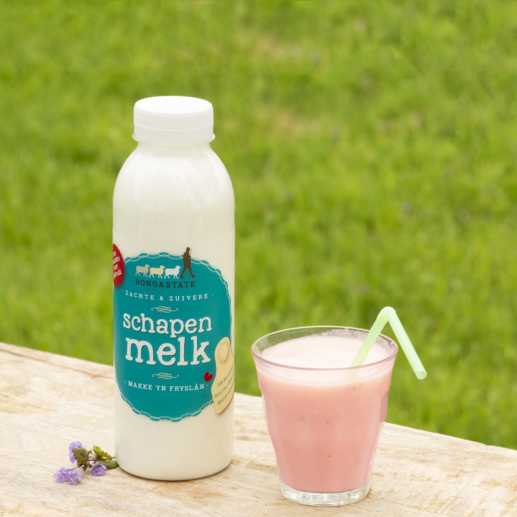 Bongastate Schapenmelk Recept Roze Smoothie